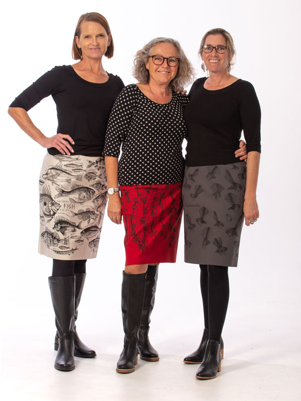 Three Ladies Madcat Skirts