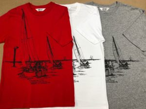 Sailing Boats Leaving Nelson Harbour T Shirt For Men