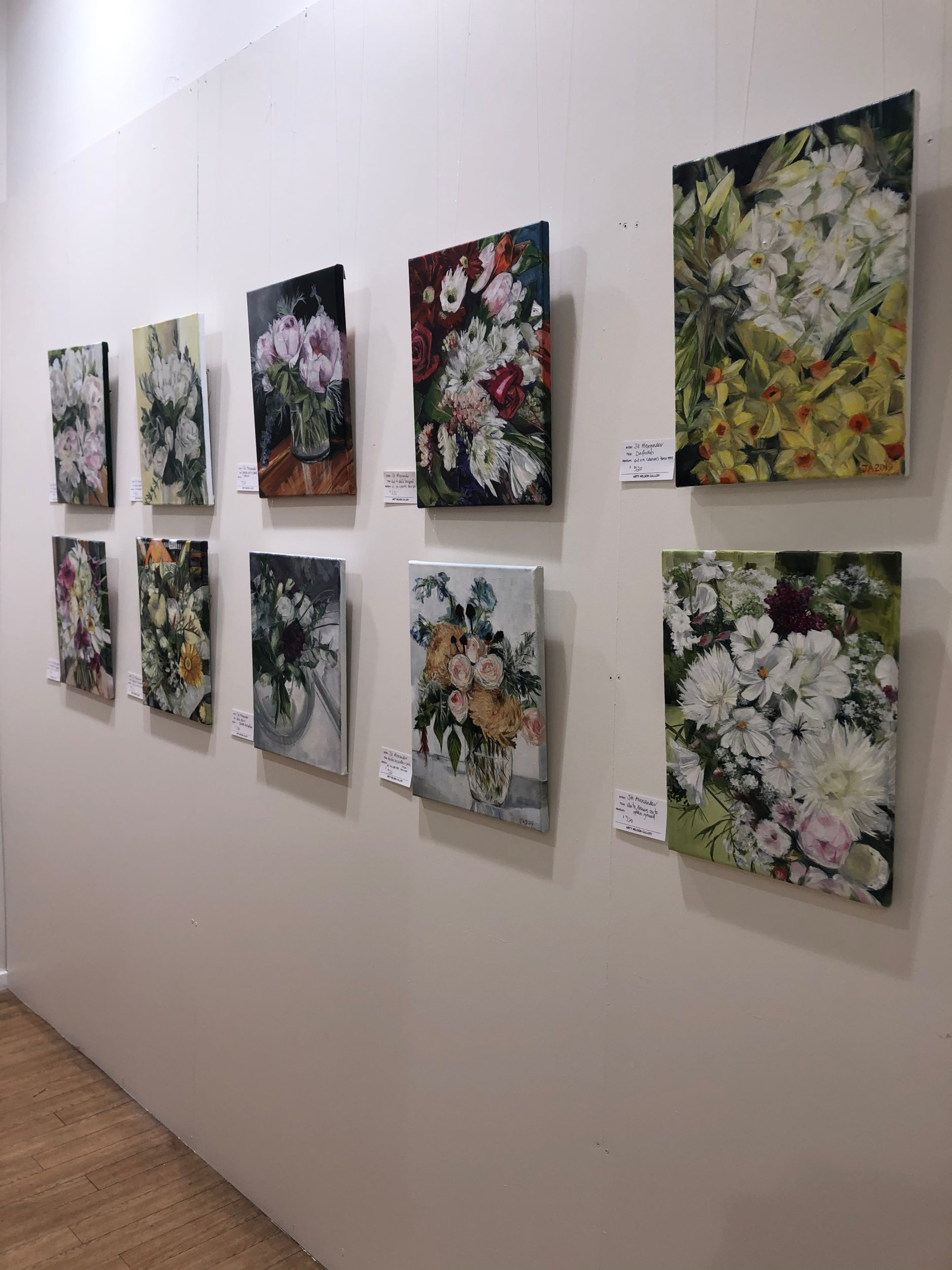 Flower Painting Exhibition December 2019