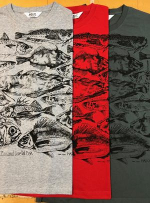New Zealand Fish T Shirt For Men